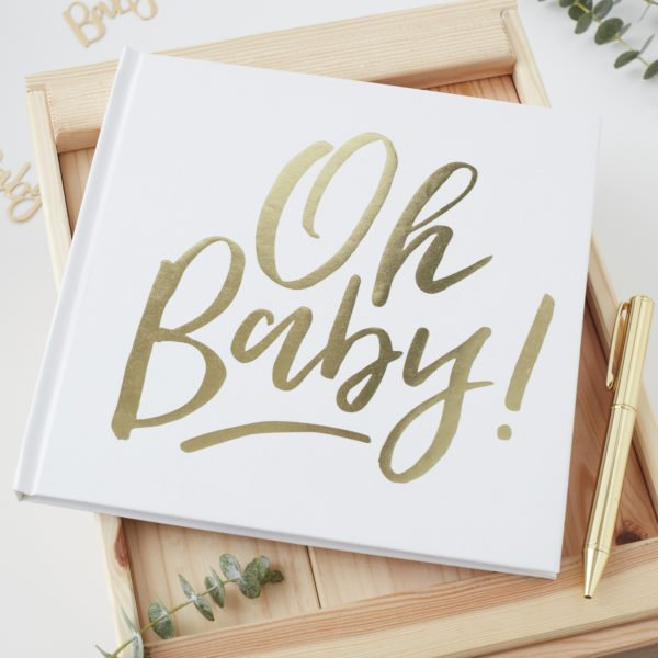 OB-128 Oh Baby Guestbook