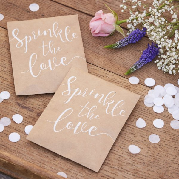 CW-239 Sprinkle The Love Confetti Envelopes