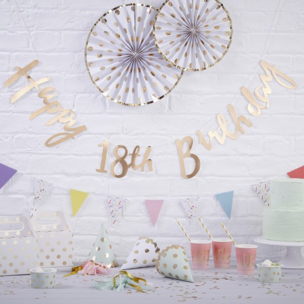 PM-228 – Happy 18th Birthday Bunting