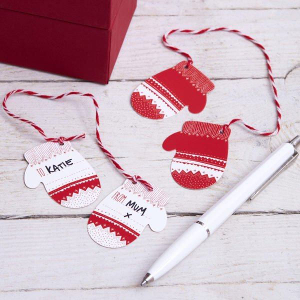 CO-518 Mitten Gift Tags