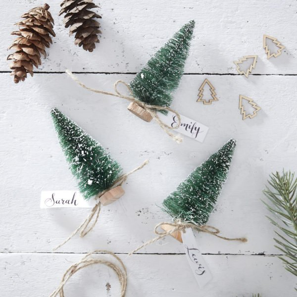 RC-840 Mini Brush Tree Place Cards