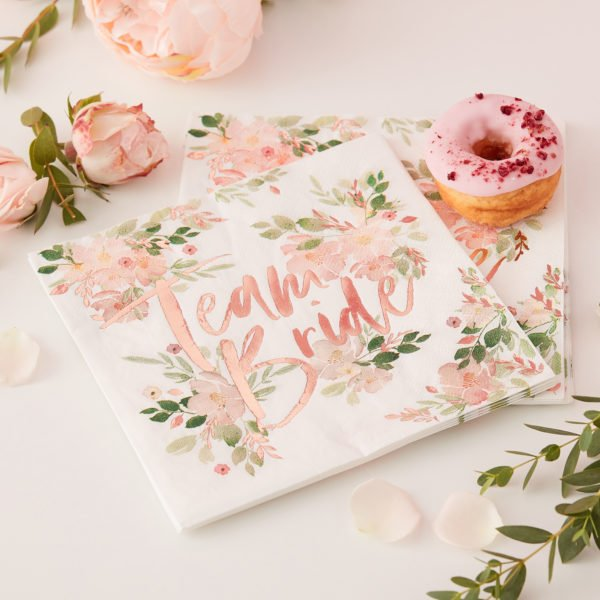 FH-205 Team Bride Napkin
